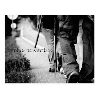 Principios, Camino de Santiago Tarjeta Postal