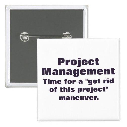 Principios de gestión del proyecto pin