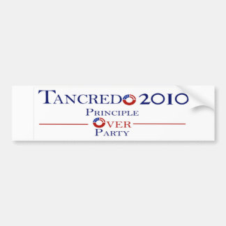 Principle Over Party Tancredo 2010 Bumper Sticker