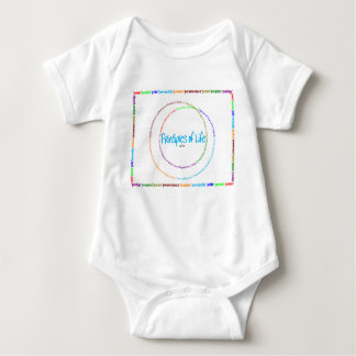 principles of life - definition baby bodysuit