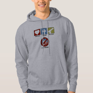 Princples Against Obama Hooded Pullover