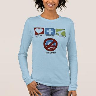 Princples Against Obama Long Sleeve T-Shirt