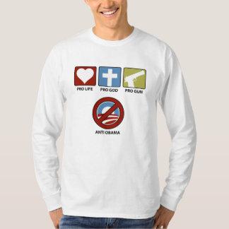 Princples Against Obama Longsleeve T-Shirt