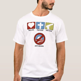 Princples Against Obama T-Shirt
