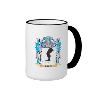 Pring Coat of Arms - Family Crest Ringer Coffee Mug