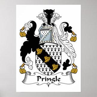 Pringle Family Crest Poster