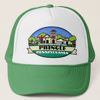 Pringle Pennsylvania small town green hat