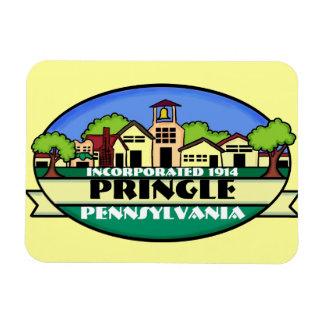 Pringle Pennsylvania small town souvenir magnet