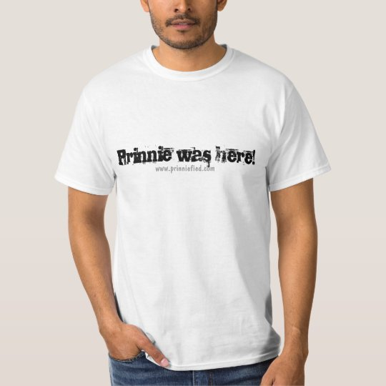 Prinnie was here! T-Shirt