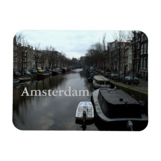 Prinsengracht, Amsterdam Rectangular Photo Magnet