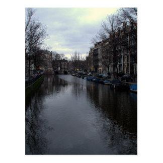 Prinsengracht canal, Amsterdam Postcard