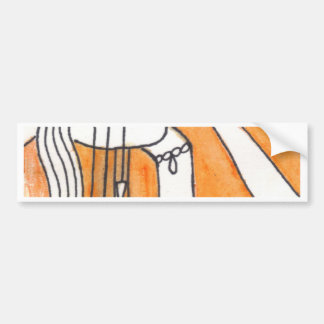 Print 17 All Tangled Up By Self Deception Bumper Sticker