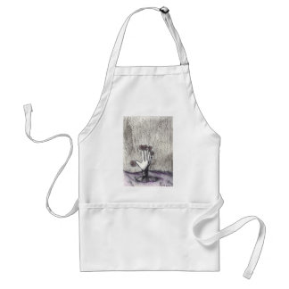 Print 18 Dead Pushing Up Daisies Adult Apron
