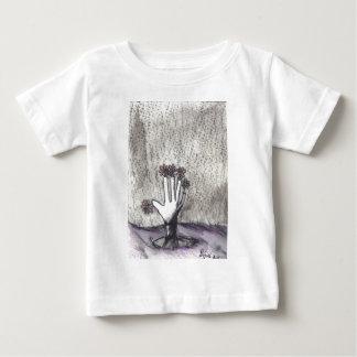 Print 18 Dead Pushing Up Daisies Baby T-Shirt