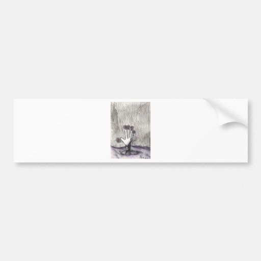 Print 18 Dead Pushing Up Daisies Bumper Sticker