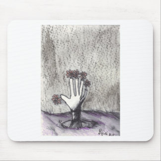Print 18 Dead Pushing Up Daisies Mousepads