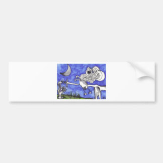 Print 18 Death by Knife Hammered Into Face Bumper Sticker