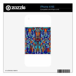 print 2040 design skins for iPhone 4