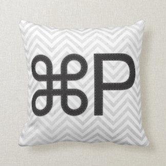 Print Apple P Mac Pillow