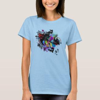 Print Backward T-Shirt