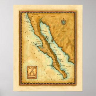 Print, Baja 16 x 20