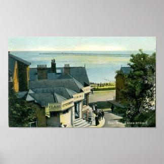 Print - Bent Hill, Felixstowe, Suffolk