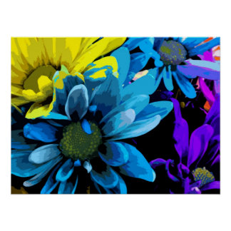 Print - Bright Blossoms 4724D