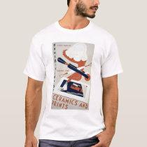 Print & Ceramics Expo 1938 WPA T-Shirt