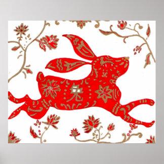 Print, Chinese New Year Rabbit