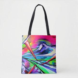 Print Design BY Frank Mothe. Tote Bag