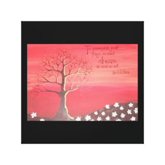 PRINT: Fall Themed Painting Stretched Canvas Prints