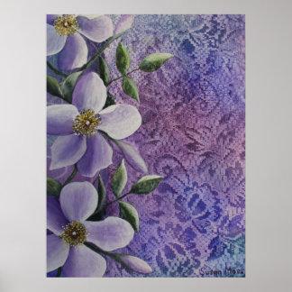 Print Floral Fantasy Print