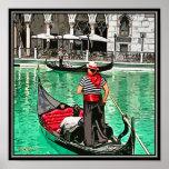 Print:  Gondolier