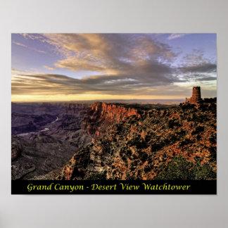 Print - Grand Canyon - Desert View Watchtower