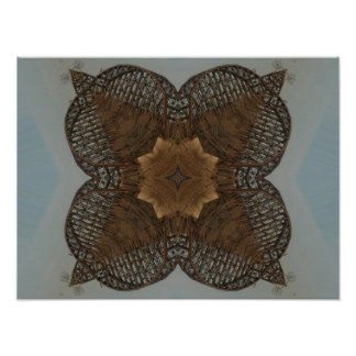 ~Print~ ideal del tejedor Póster