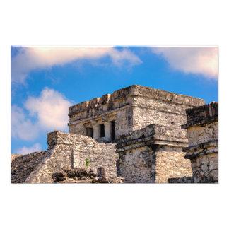 Print - Mayan Ruins - Tulum, Mexico