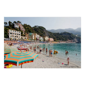 Print: Memories of Italy - Le Cinque Terre Poster
