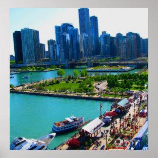 Print of Chicago Skyline