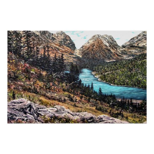 "Print of ""Mountain Meadow"""