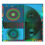 Print     office picture - math & space theme photographic print