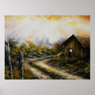 Print Old Dirt Road