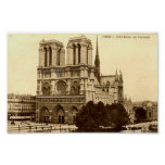 Print - Paris, Notre Dame
