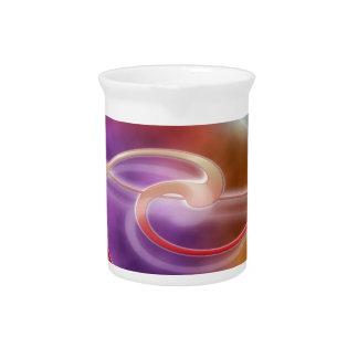 print pattern background design colorful diy drink pitcher