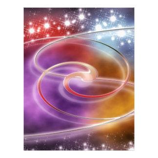 print pattern background design colorful diy letterhead