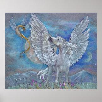 PRINT - Pegasus Fairy Dragon