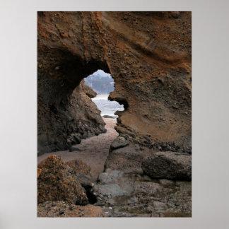 Print: Sandstone Keyhole Poster