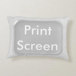 Print-Screen Key Decorative Pillow