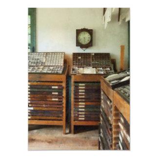 Print Shop with Clock Card