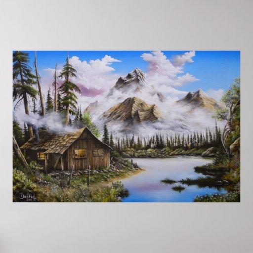 Print Summer Solitude Oil Painting