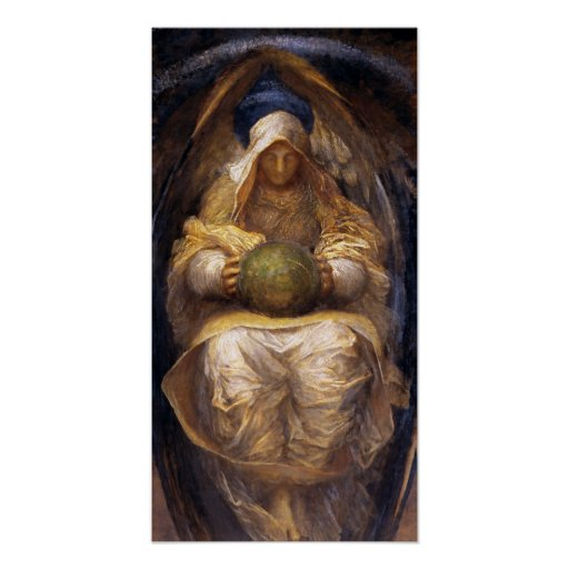 """Print: """"The All-Pervading"""" by George Watts Poster"""